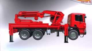 AC 115 TM-KC - MPG Makine A.S. - Knuckle Boom Crane