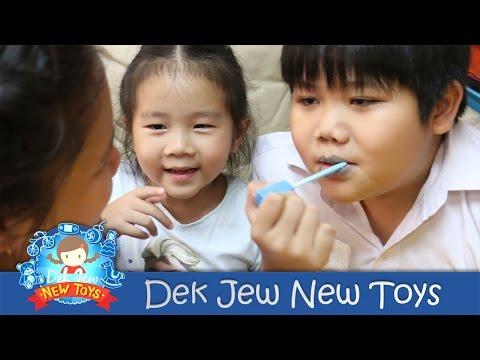 เด็กจิ๋วรีวิวขนม ลิปกลอสกินได้ Candy Lip Gloss [N'Prim W293]