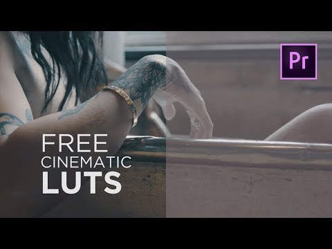 FREE LUT Pack | 10 Free CINEMATIC LUTs