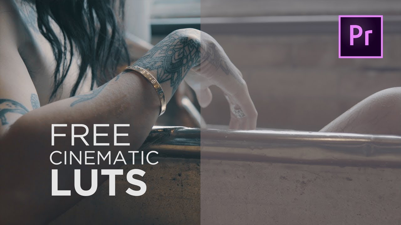 Free Lut Pack 10 Free Cinematic Luts Youtube