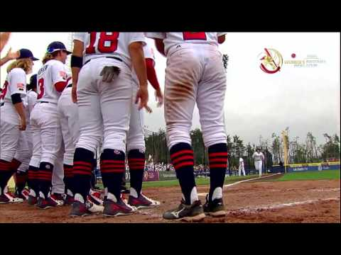 Highlights: Chinese Taipei v USA - Women's Baseball World Cup