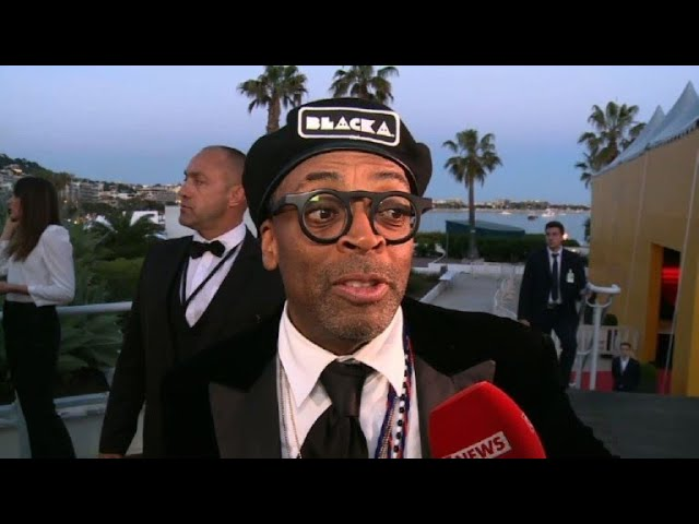"Cannes: Spike Lee wins runner-up Grand Prix for ""BlacKkKlansman"""
