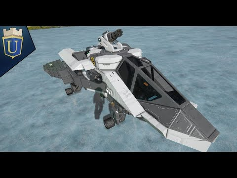 Let's Build   Space Engineers   Scout Plane