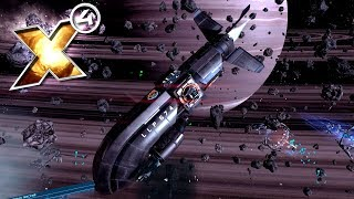 X4: Foundations - Опасные системы и АБОРДАЖ большого корабля! (гайд и обучение)! №8