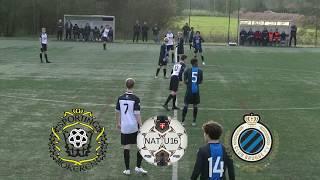 Nat. Elite U16 - Sporting Lokeren - Club Brugge KV. - Uitslag 1-2