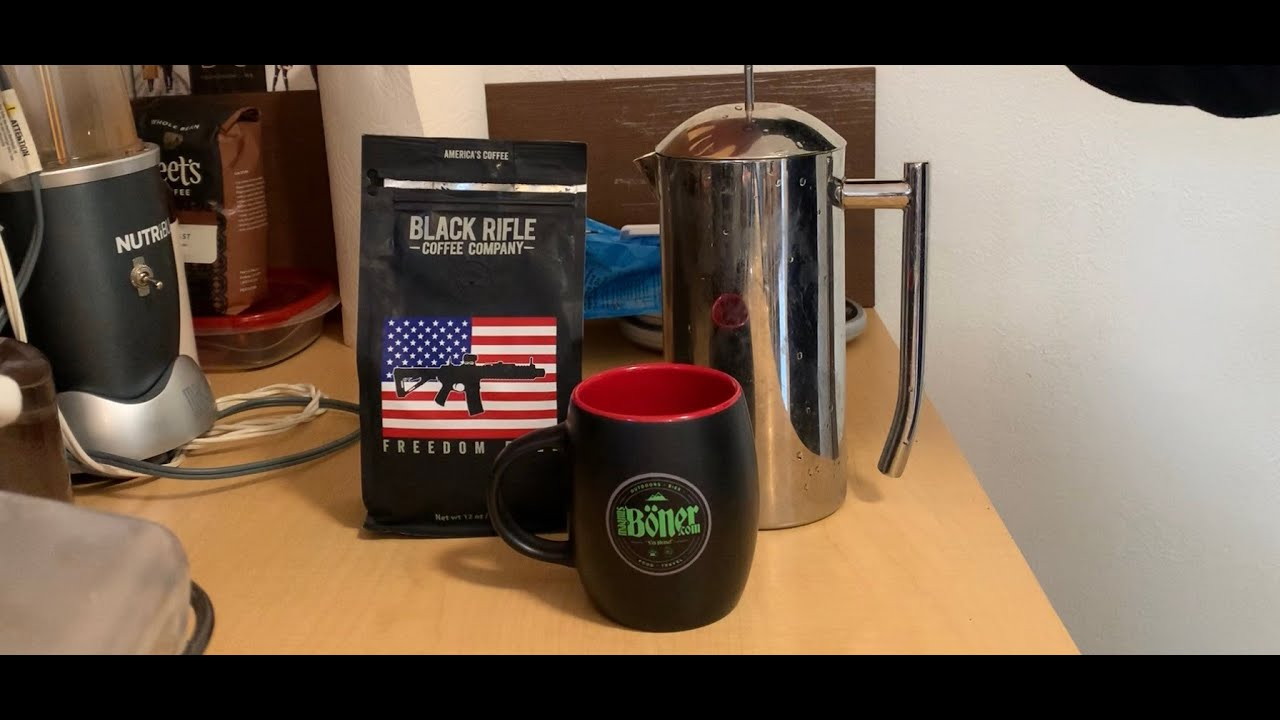 Black Rifle Coffee, Freedom Fuel Review - YouTube