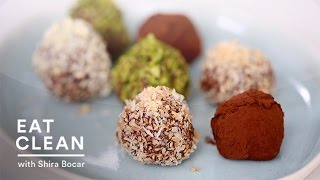 Dark Chocolate Coconut Oil Truffles - Eat Clean With Shira Bocar