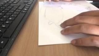 Lamborghini Aventador drawing time lapse