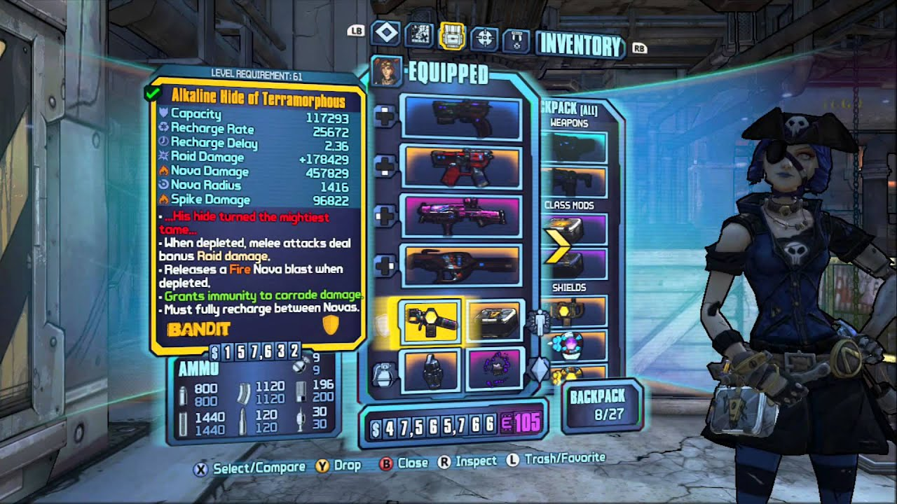 Borderlands 2 Mechromancer - Year of Clean Water