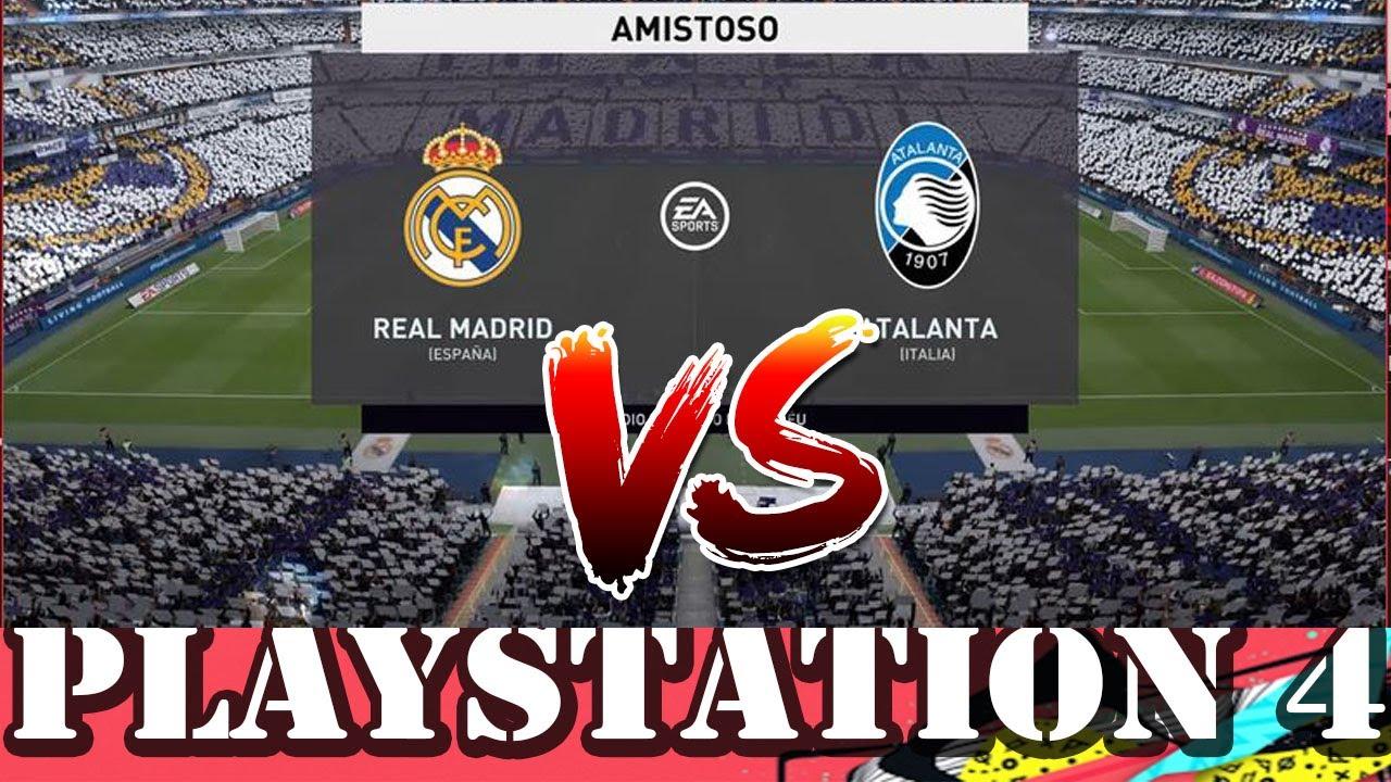 Real Madrid VS Atalanta FIFA 20 PS4 - YouTube