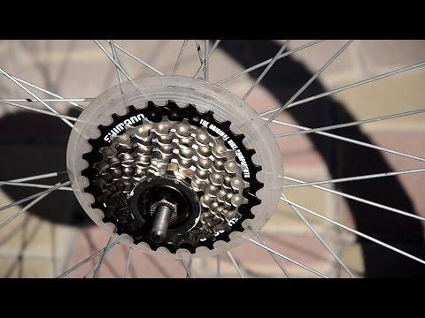 Замена трещотки на велосипеде