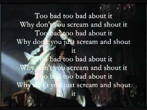 YouTube   Michael Jackson   2 Bad  Instrumental Karaoke    On Screen Lyrics