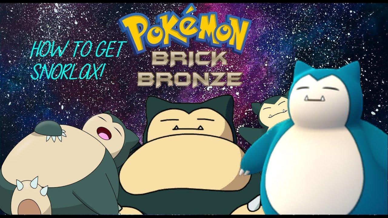 How To Get Snorlax New Pokemon Brick Bronze Update