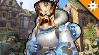 Overwatch FUNNY & EPIC Moments 36 - MEI THE PREDATOR - Highlights Montage