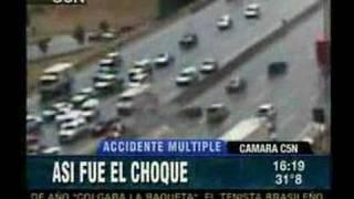 multi car crash highway argentina i