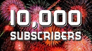 OH MY GOD!!! 10,000 Subscribers THANK YOU !!!