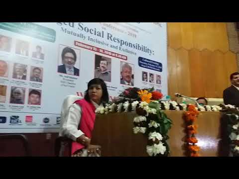 International Conference on CSR 2018 // SMBS // Jamia Hamdard // Part 17