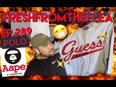 THRIFT EP.289 AAPE!VINTAGE POLO!THRIFT HAUL!