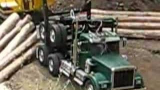 rc logging truck
