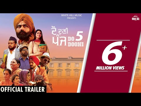 DO DOONI PANJ (Official Trailer) Amrit Maan | Isha Rikhi | Badshah | Rel on 11th Jan