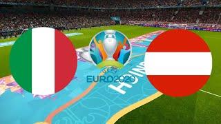 ИТАЛИЯ АВСТРИЯ 2 1 ОБЗОР МАТЧА ЕВРО 26 06 2021 ФУТБОЛ ВИДЕО ГОЛЫ 1 8 ФИНАЛА МАТЧ FIFA21 ПРОГНОЗ