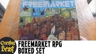 Freemarket RPG Box Set Unboxing