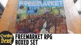 Freemarket RPG Box Set Unboxing