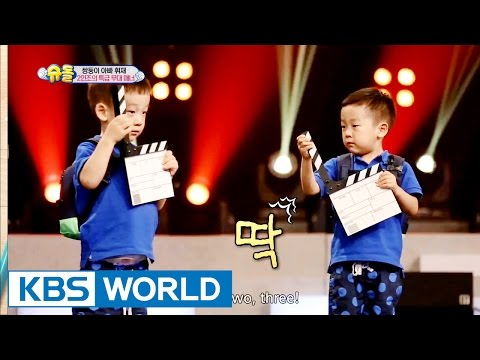 Twins' House - Duo's perfect stage manners! [The Return of Superman | 2016.08.14]