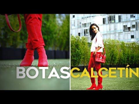 Looks con botas tipo calcetín/ Dress Code