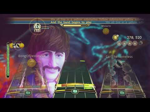 Yellow Submarine By The Beatles Full Band FC #3635