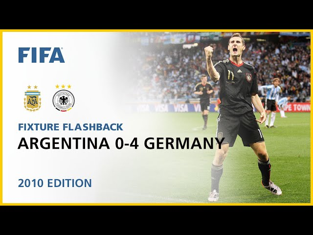 Argentina 0-4 Germany | South Africa 2010 | FIFA World Cup
