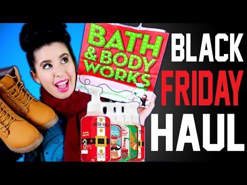 BLACK FRIDAY HAUL 2015! | Bath & Body Works | Rue21| UGG | CATO BLACK FRIDAY SALE!