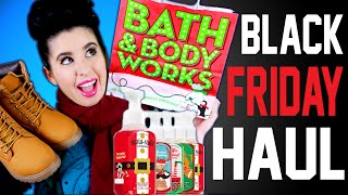 BLACK FRIDAY HAUL 2015! | Bath & Body Works | Rue21| UGG | CATO BLACK FRIDAY SALE!