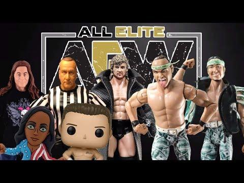 AEW ACTION FIGURES!!! All Elite Wrestling