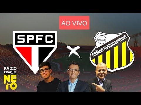 São Paulo x Novorizontino | AO VIVO | Rádio Craque Neto - Paulistão 2020