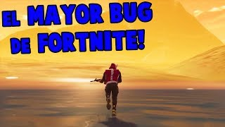 THE BUG for WALKING in THE FORTNITE SEA!! 🌊😱