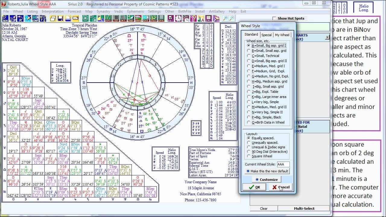 Mastering Astrology: Quickly Identify Aspects, etc