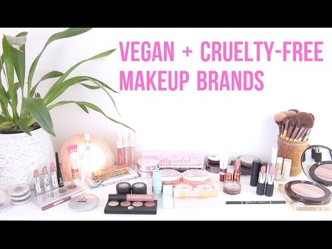 Vegan makeup brands