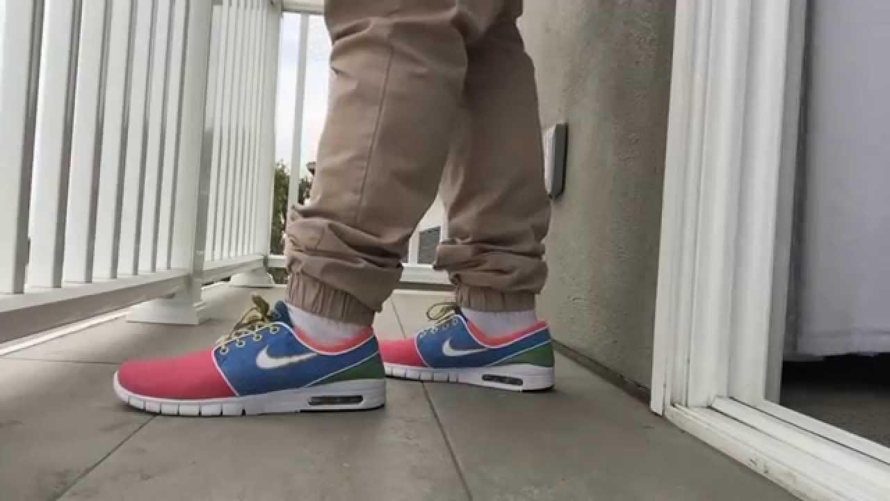 Concepts Nike Janoski Max On Feet YouTube