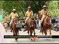 Kerala mounted Police ready for Onam security