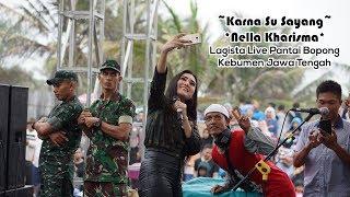 Karna Su Sayang Nella Kharisma Lagista Live Pantai Bopong Kebumen Jawa Tengah
