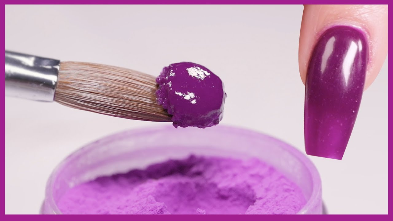Everything You Need to Know About Acrylic Powder - Glam and Glits