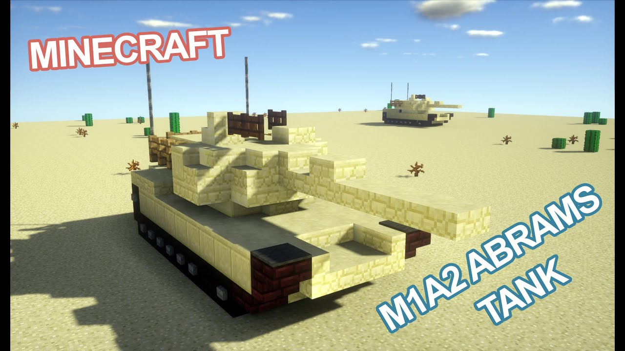 minecraft how to build a tank