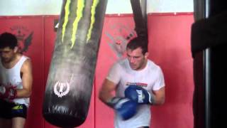 Training with the Champion: Michael Chandler Jr.