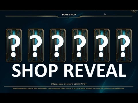 THE BEST LEAGUE SHOP?! League of Legends - Shop Reveal