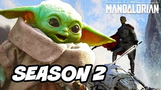 The Mandalorian Season 2 Baby Yoda Darksaber Announcement Breakdown and Easter Eggs