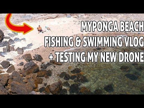 Fishing & Beach Adventure Vlog + Drone Footage - Myponga, South Australia