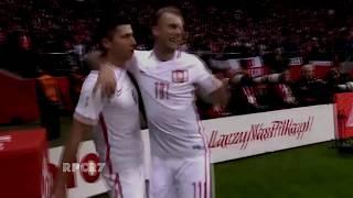 Robert lewandowski goal vs montenegro (4:2)