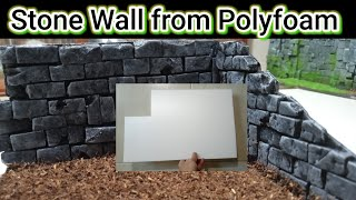 In this video i want to show you How To Make And Painting Miniature Stone Walls - Stone Wall Painting Design - Miniature Stone Walls And if you want to see ...