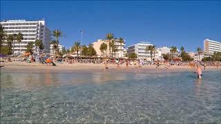 Cala Millor Strand Mallorca GoPro Oktober 2017 HD